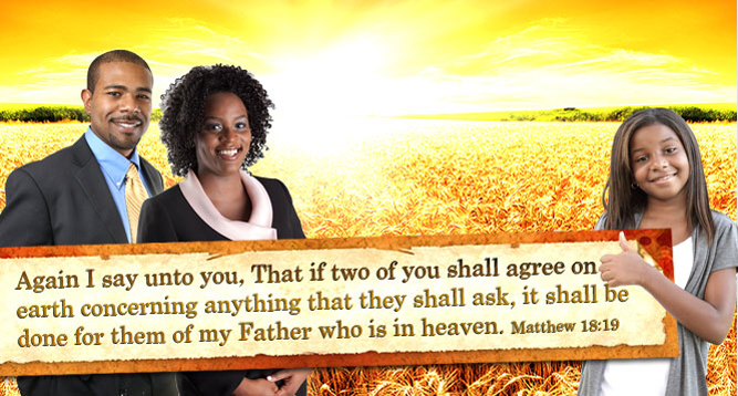 ...that if two shall agree on earth...